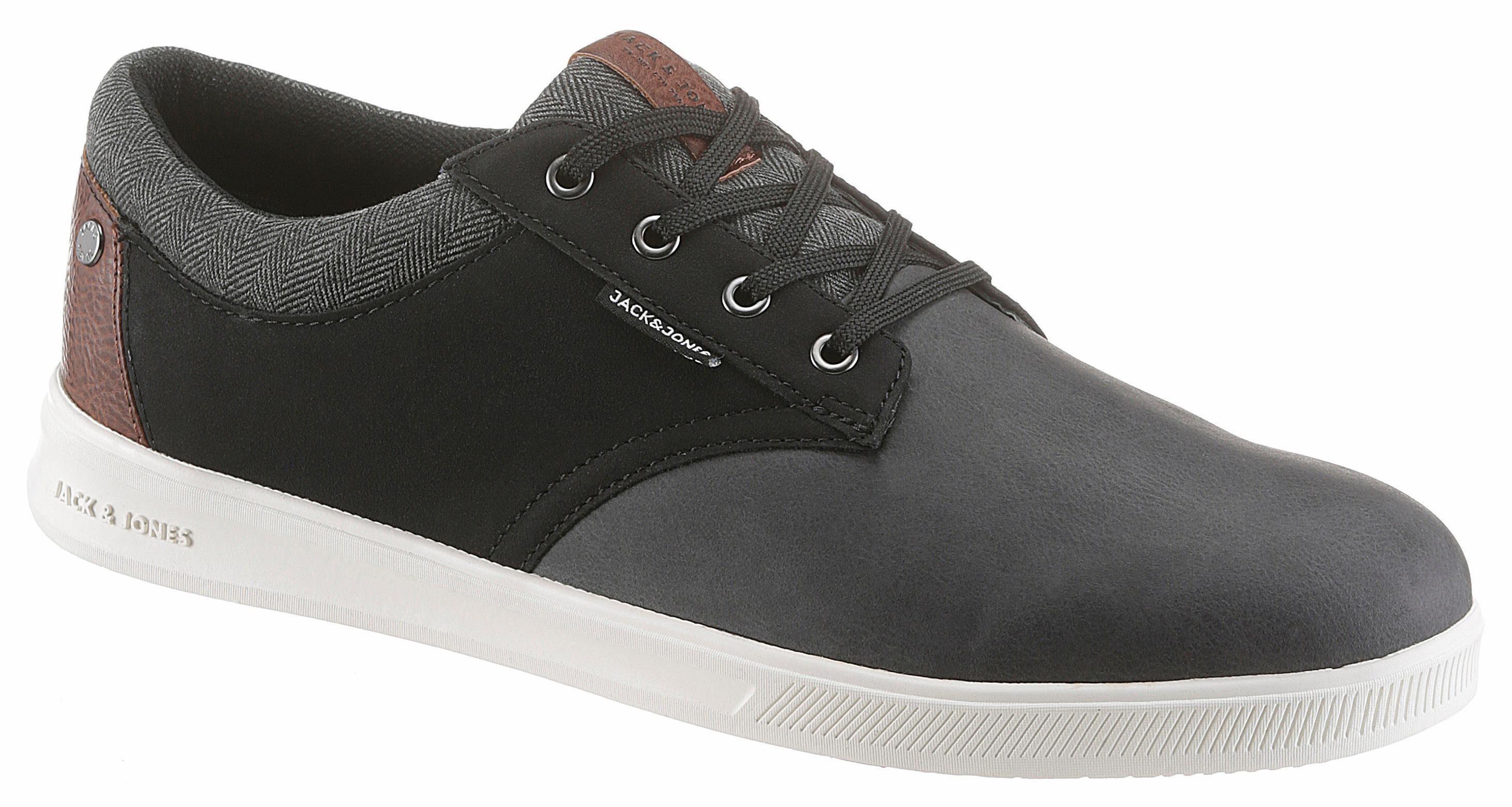 Jack & Jones Jfw Gaston PU Combo Sneaker, im angesagten Materialmix online kaufen  anthrazit