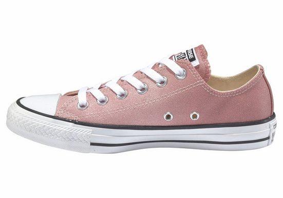 Converse Mandrin Taylor Tout Étoiles Glitter Sneaker, Glitzeroptik