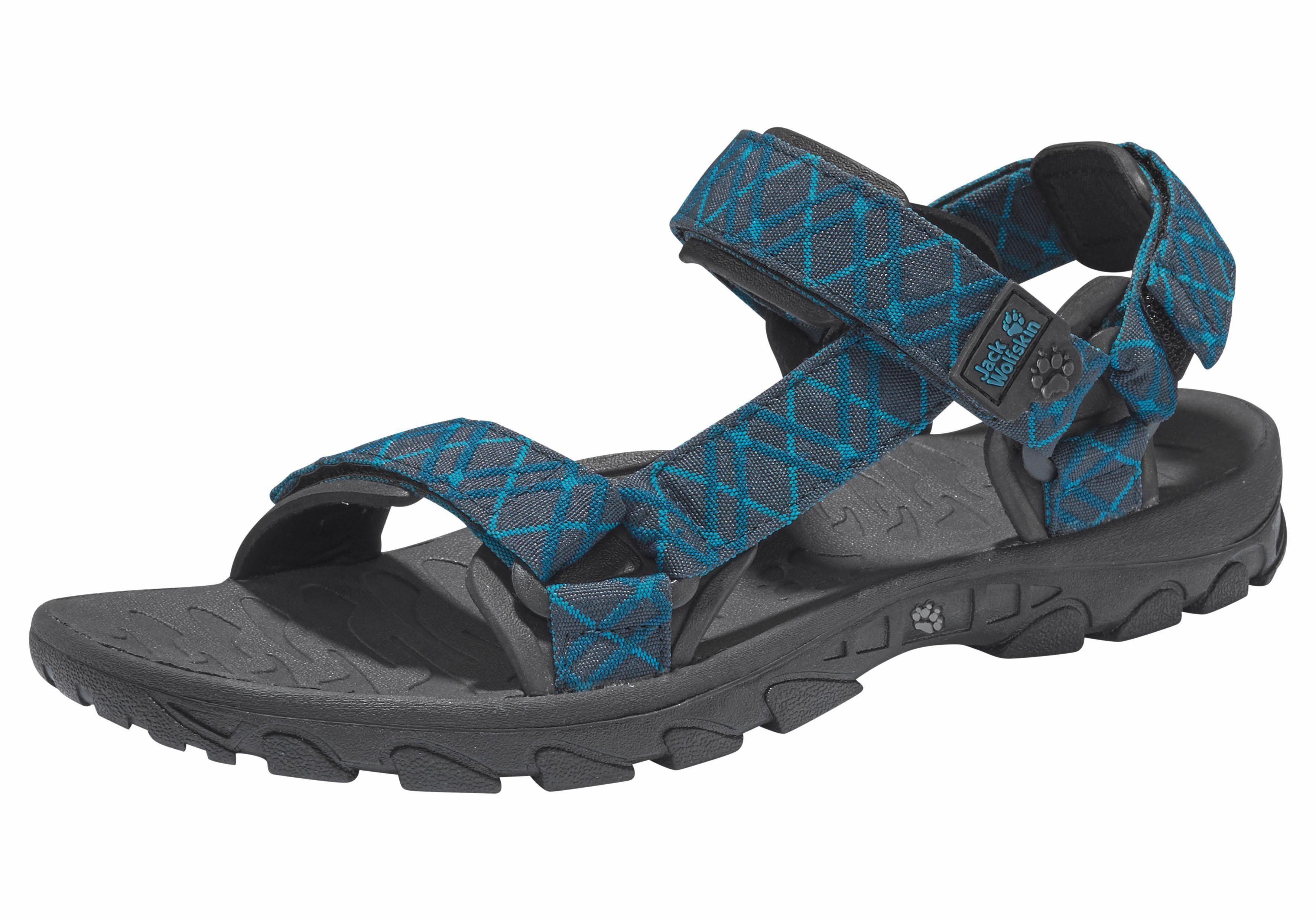 Jack Wolfskin »Wildwaters Sandal« Outdoorsandale, blau, 45,5 45,5