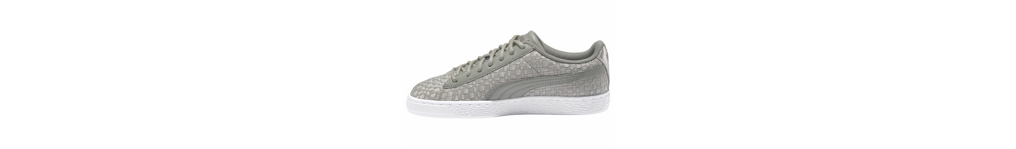 PUMA Basket Satin EP Womens Sneaker, in Satinoptik