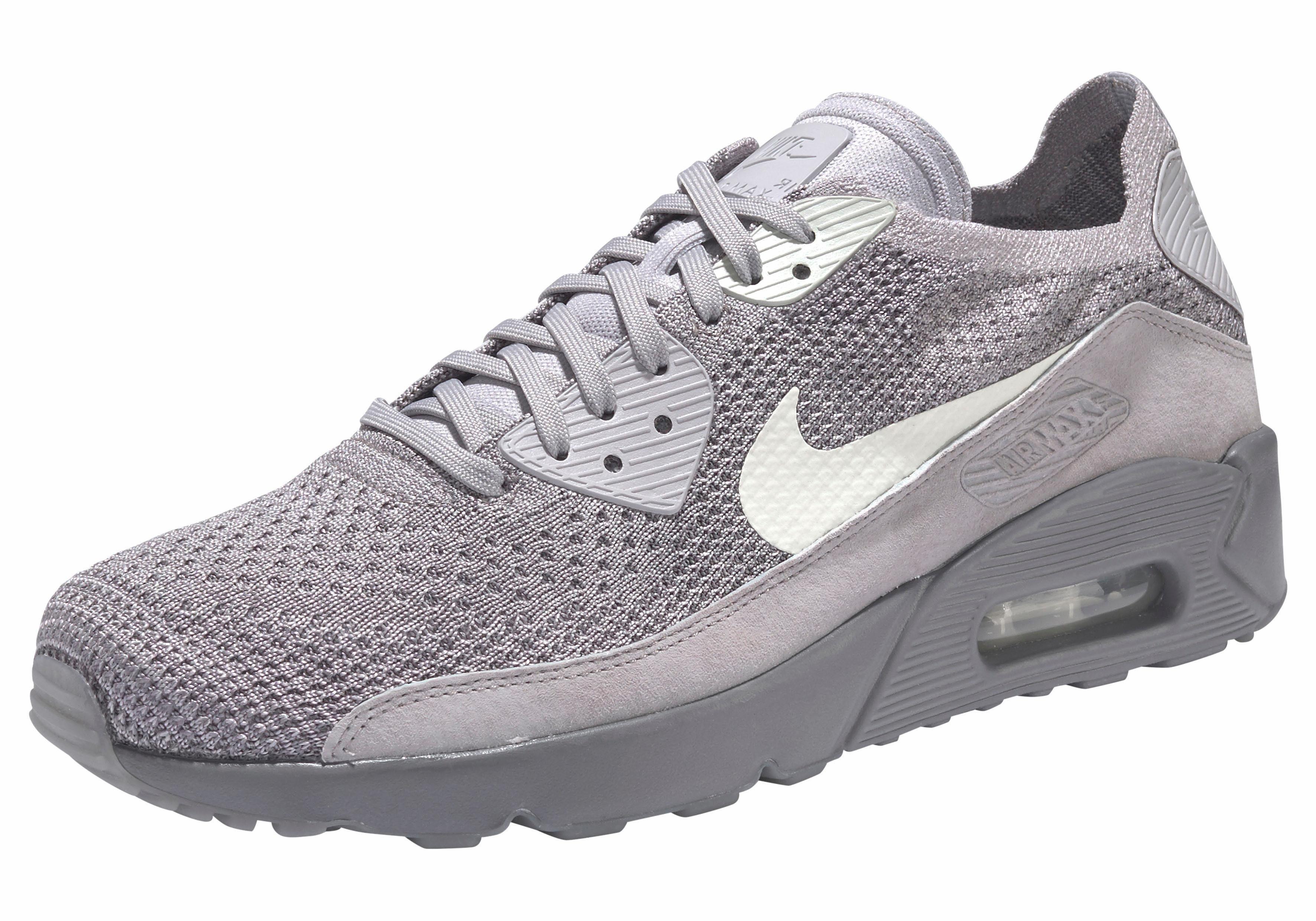 Nike Sportswear »Air Max 90 Ultra 2.0 Flyknit« Sneaker, Stabile Gummilaufsohle online kaufen | OTTO
