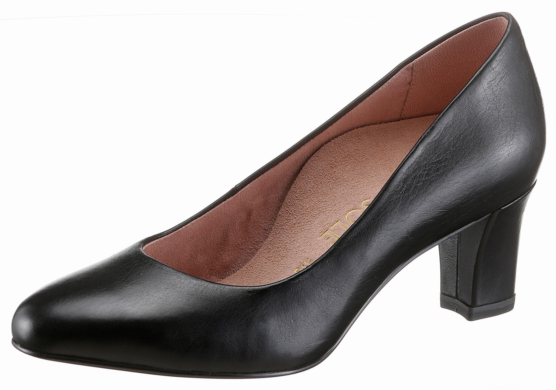 Tamaris HEART & SOLE Pumps, im femininen Design  schwarz