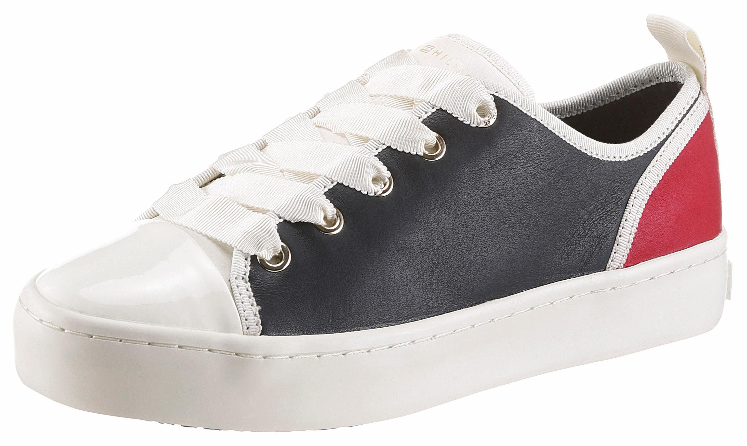 Tommy Hilfiger Sneaker, im modischen Farbmix  nachtblau-weiß-rot