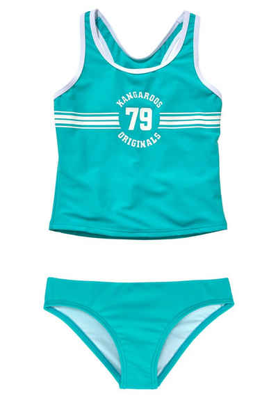 KangaROOS Tankini »Sporty« mit sportlichem Frontdruck