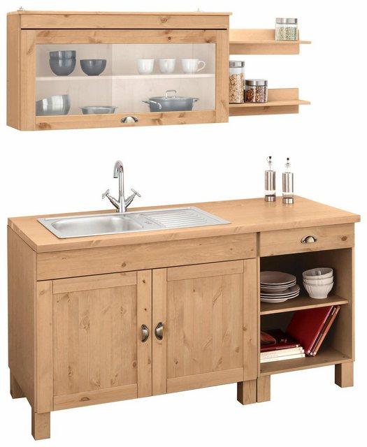 Einbauküchen - Home affaire Küchenzeile »Oslo«, ohne E Geräte, Breite 150 cm  - Onlineshop OTTO