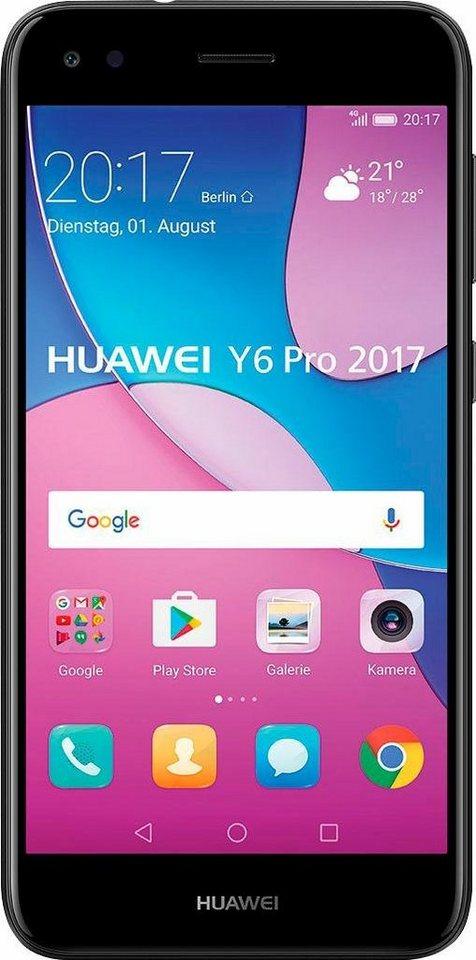 huawei y6 pro 2017 smartphone 12 7 cm 5 zoll 16 gb. Black Bedroom Furniture Sets. Home Design Ideas