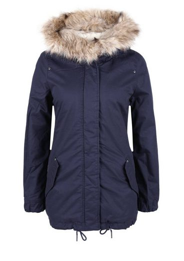 s.Oliver RED LABEL Gefütterter Parka mit Fake Fur