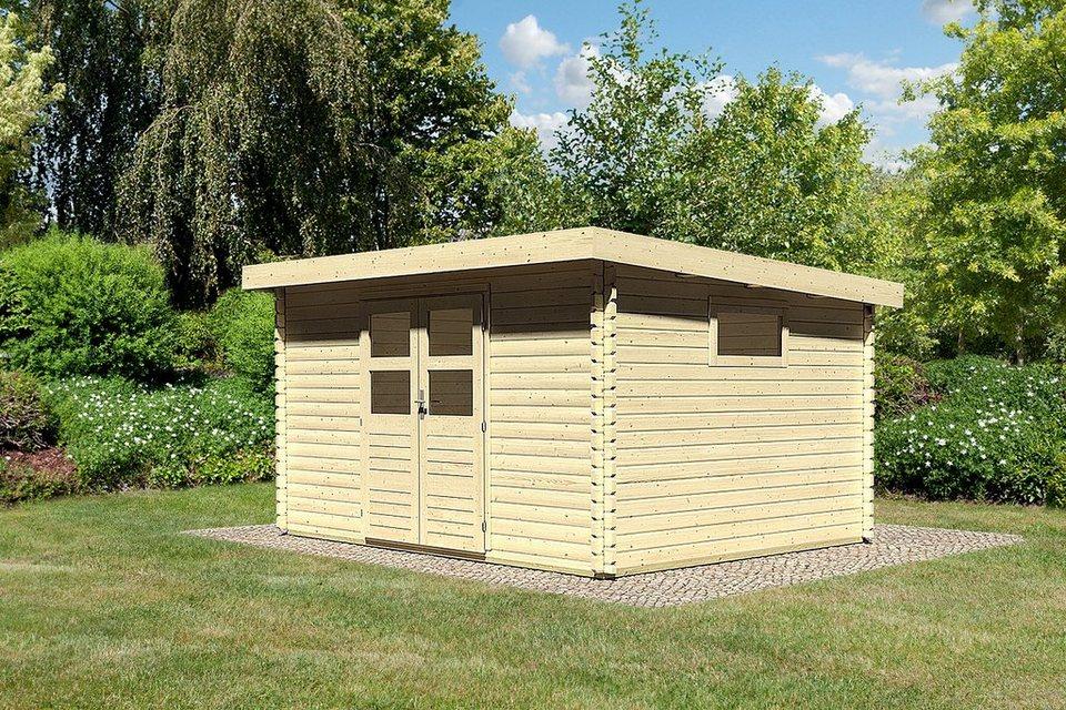 Konifera gartenhaus hildesheim 5 bxt 406x333 cm online kaufen otto for Baumarkt hildesheim