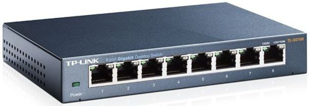 TP-Link Switch »TL-SG108 8-Port Gigabit Desktop Switch«