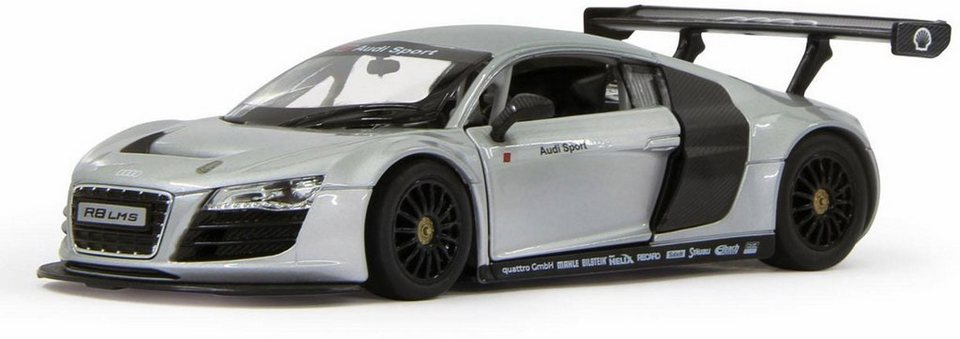 jamara modellauto diecast audi r8 lms 1 24 silber. Black Bedroom Furniture Sets. Home Design Ideas