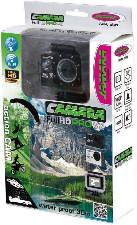 JAMARA Action Camera, »Camera Full HD Wifi V2, schwarz«