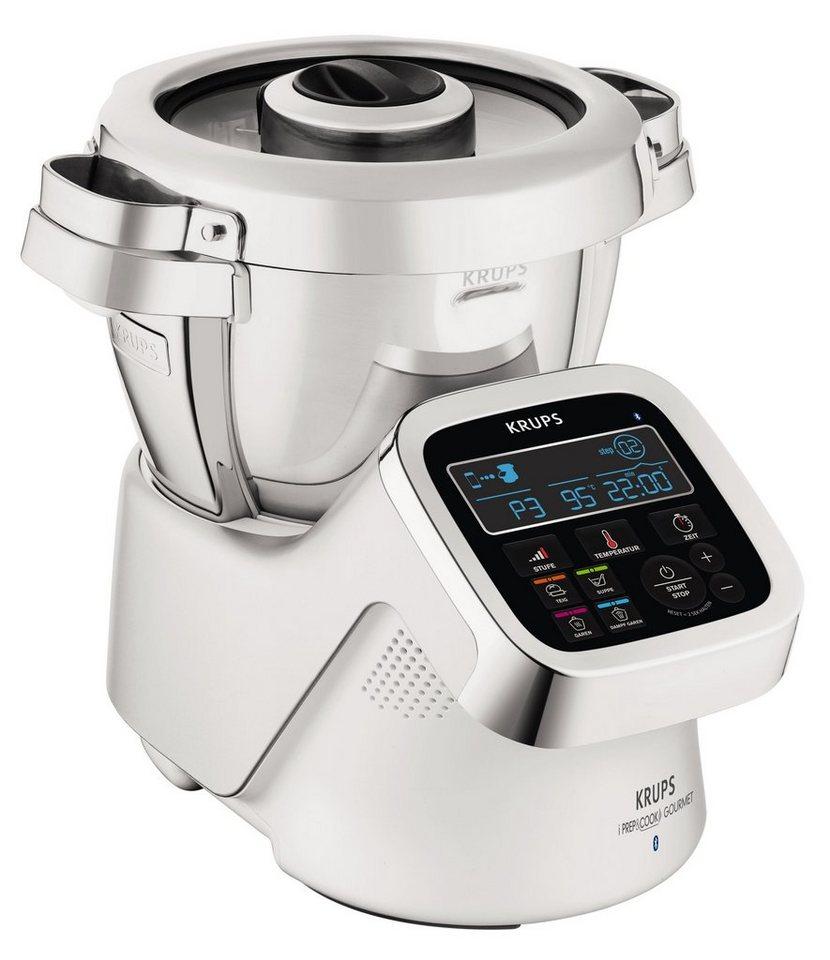 Krups Küchenmaschine mit Kochfunktion i Prep&Cook Gourmet HP6051 ...