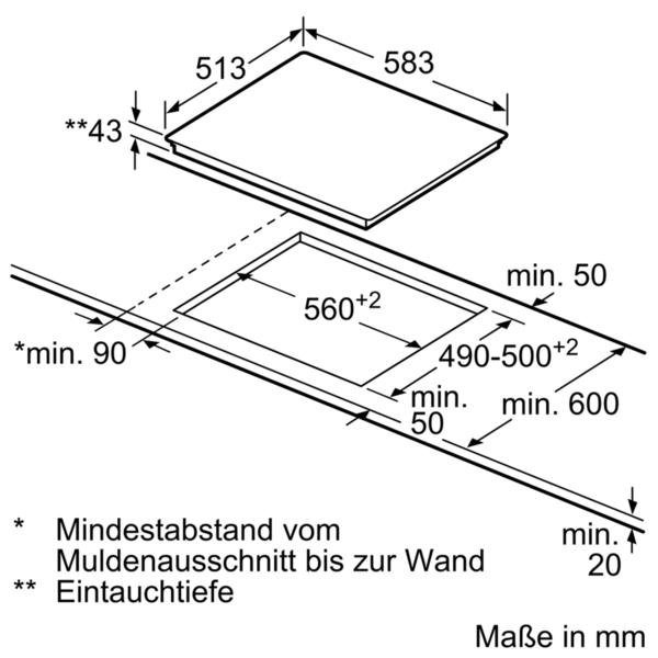 SIEMENS Elektro-Herd-Set EQ211KA00, mit 3D-Heissluft