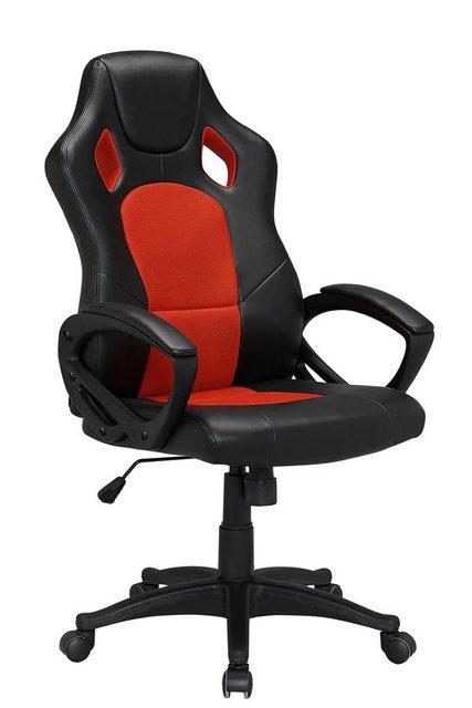 Bürostühle - HTI Line Chefsessel Racingstyle, Chefsessel Racingstuhl »Daytona« » rot  - Onlineshop OTTO