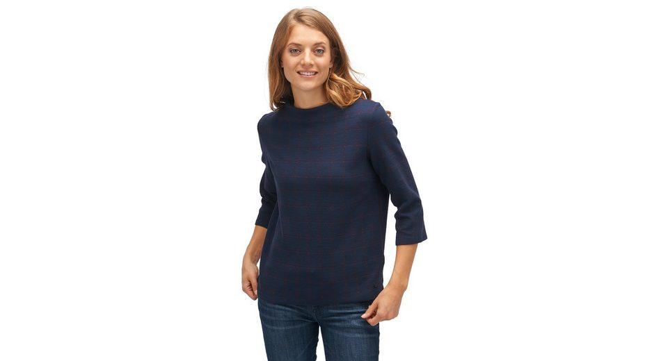 Verkauf Sammlungen Mit Mastercard Tom Tailor Sweater mit dezentem Karomuster 00vmRm