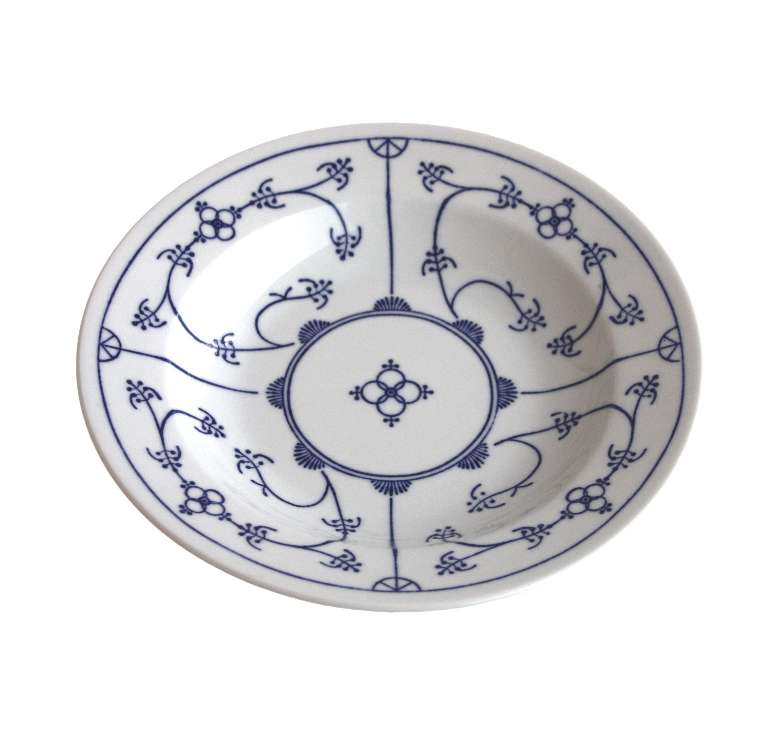 Kahla Suppenteller »Blau Saks«