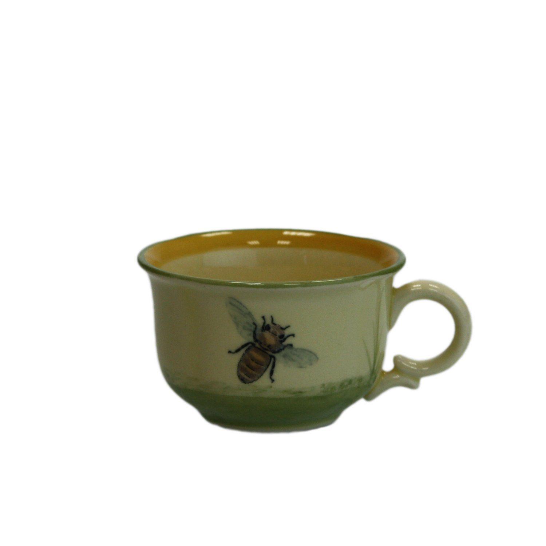 Zeller Keramik Espresso Obertasse »Biene«