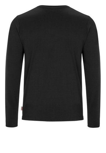 Lonsdale Langarmshirt mit Slim Fit-Passform FASSFERN