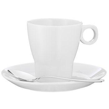WMF Kaffeetasse mit Löffel »Barista«