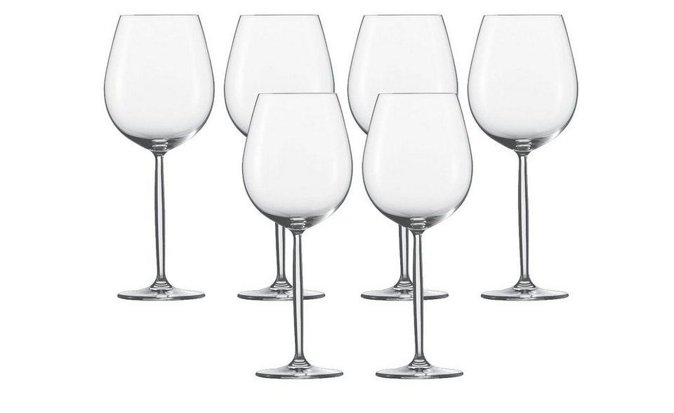 schott zwiesel burgunder glas 6er set diva otto. Black Bedroom Furniture Sets. Home Design Ideas
