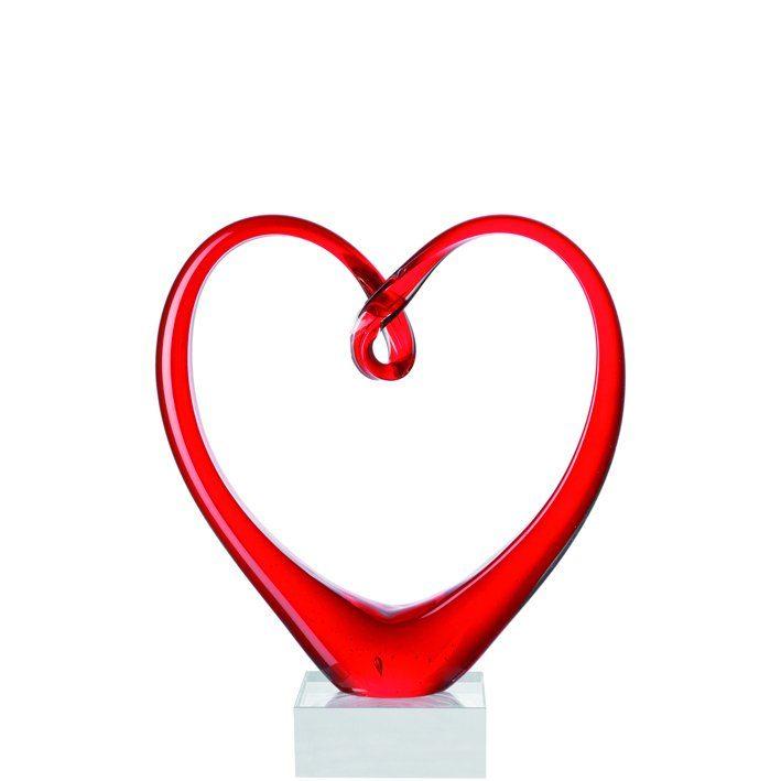 Leonardo Skulptur »Heart«