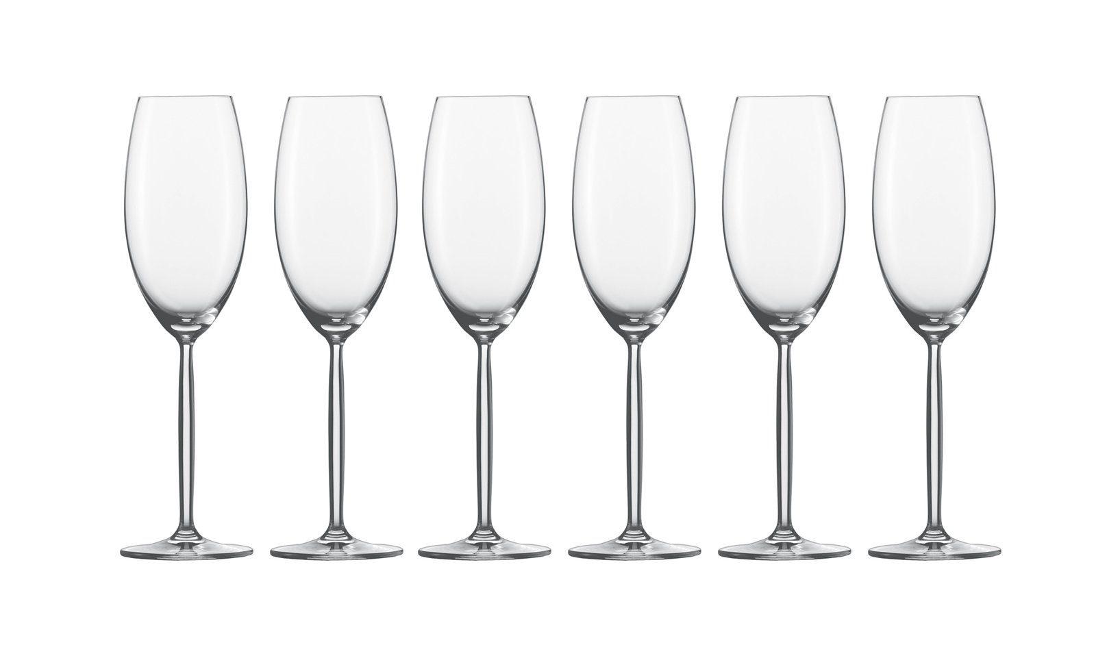 Schott Zwiesel Champagner Glas 6er-Set »Diva«
