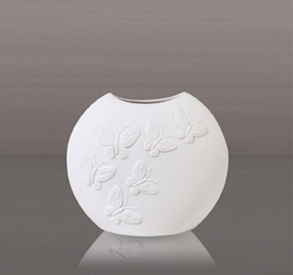 kaiser porzellan vase papillon online kaufen otto. Black Bedroom Furniture Sets. Home Design Ideas