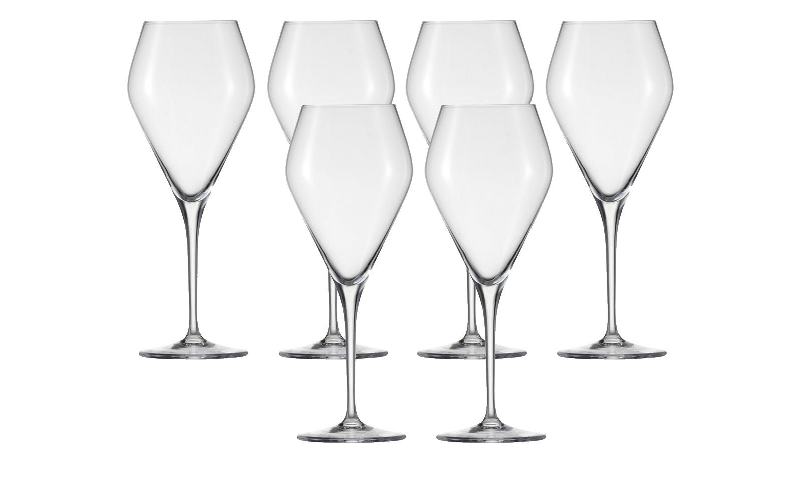 Bordeaux Glas 6er-Set »Estelle«