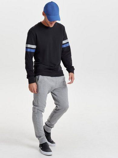 ONLY & SONS Gestreiftes Sweatshirt