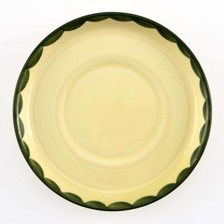 Zeller Keramik Untertasse zu Kinderbecher »Hahn und Henne«