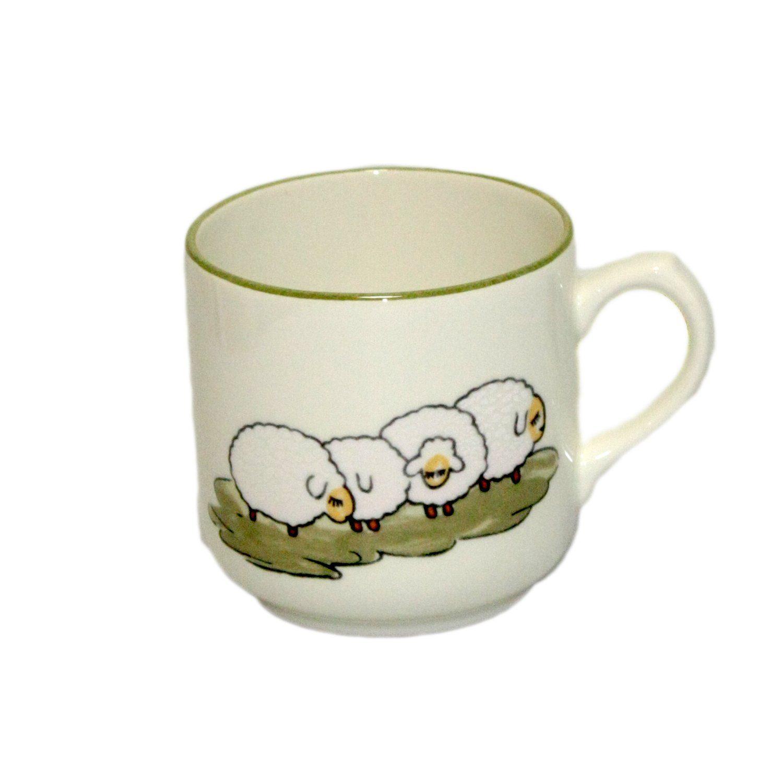 Zeller Keramik Kaffeebecher »Schäfchen«