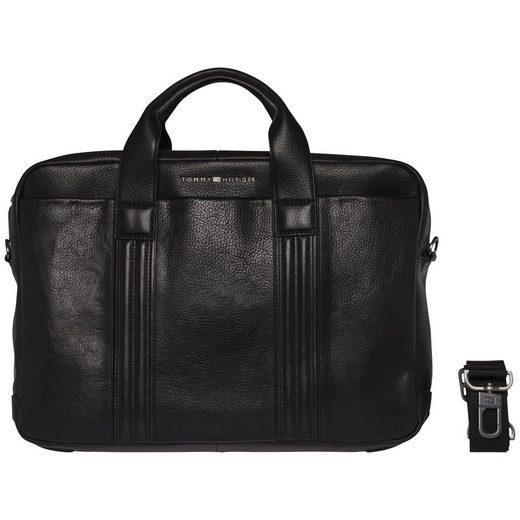 Tommy Hilfiger Handtasche »BUSINESS LEATHER COMPUTER BAG«