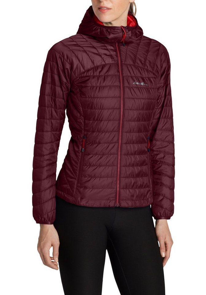 Eddie Bauer First Ascent Outdoorjacke Ignitelite Reversible Jacke mit Kapuze | Sportbekleidung > Sportjacken > Outdoorjacken | Rot | Eddie Bauer First Ascent