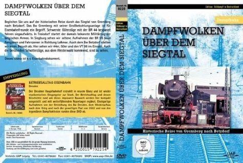 DVD »Dampfwolken über dem Siegtal, DVD«