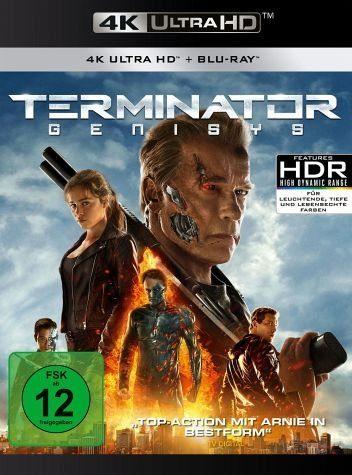 Blu-ray »Terminator: Genisys (4K Ultra HD + Blu-ray)«
