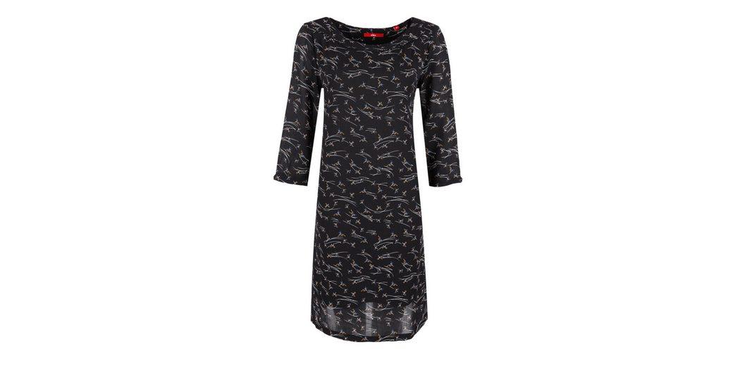 s.Oliver RED LABEL Crêpe-Kleid mit Allover-Print Billige Nicekicks lwYZVkA79