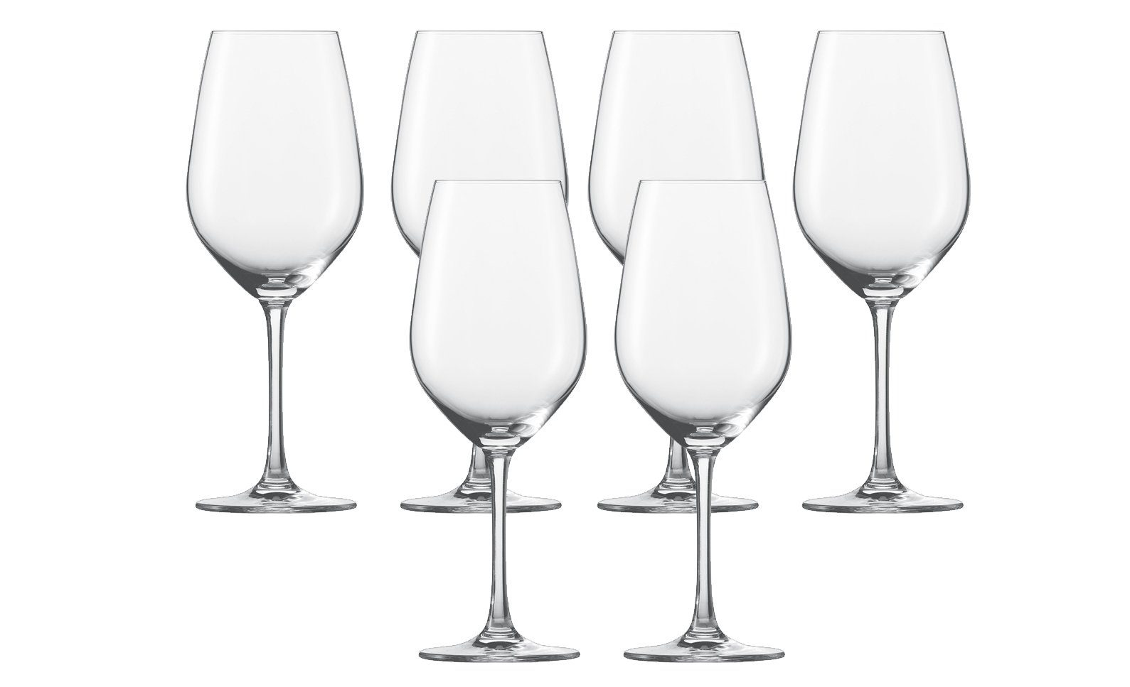 Burgunder Glas 6er-Set »Vina«