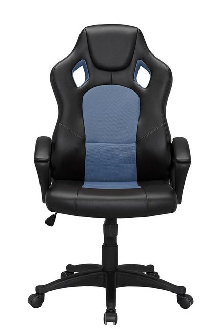 Bürostühle - HTI Line Chefsessel Racingstyle, Chefsessel Racingstuhl »Daytona« » blau  - Onlineshop OTTO