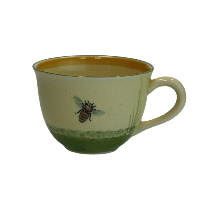 Zeller Keramik Cappuccino Obertasse »Biene«