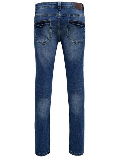 ONLY & SONS Warp Camp Skinny Fit Jeans