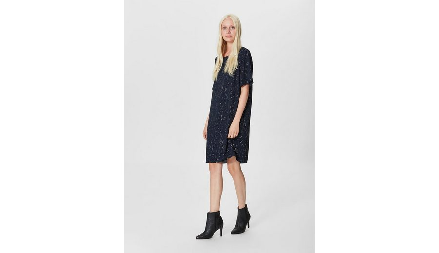 Rabatt Günstigsten Preis Selected Femme Print Kleid mit kurzen Ärmeln Zum Verkauf Online-Shop tCt0e