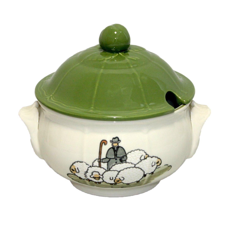 Zeller Keramik Deckelschüssel »Schäfchen«
