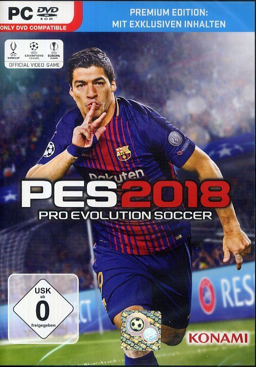 Konami Pro Evolution Soccer 2018 Premium Edition (PES 2018) »PC«