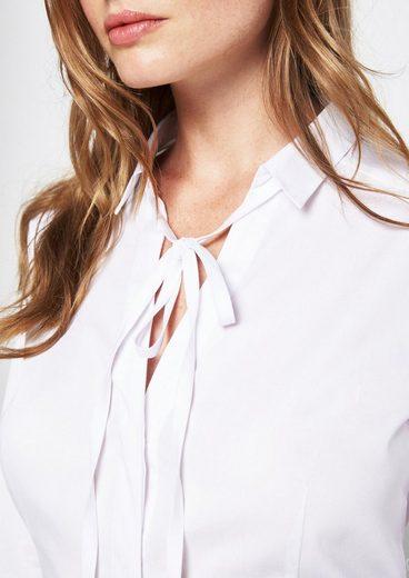 COMMA Edle Hemdbluse mit raffinierten Detailarbeiten