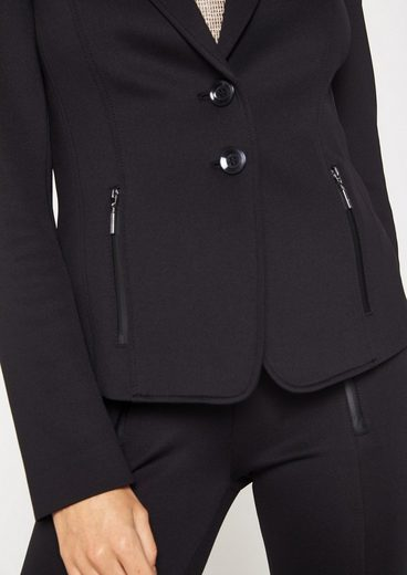 Comma Fine Blazer With Refined Details