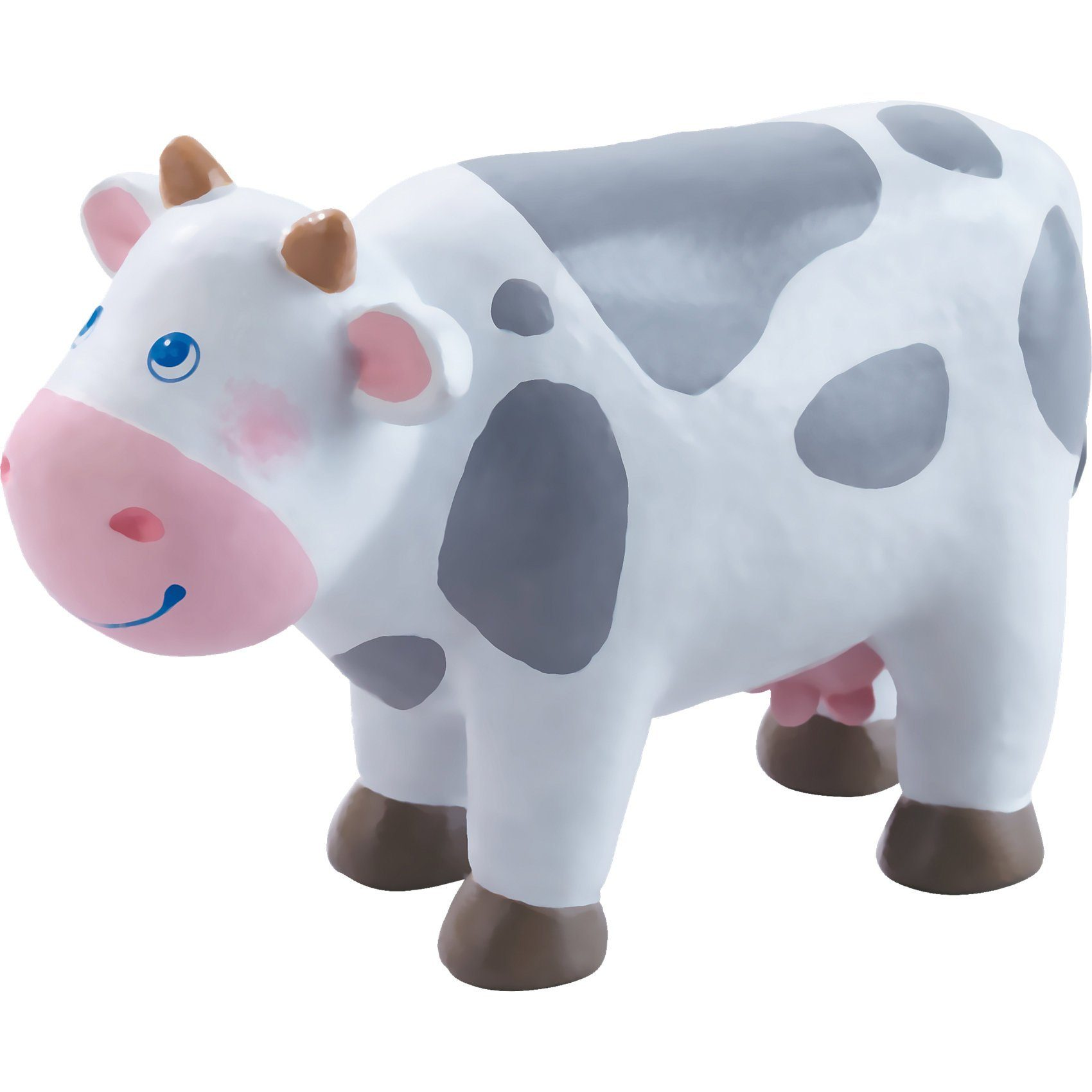 Haba 302979 Little Friends Bauernhof Kuh 11,5cm