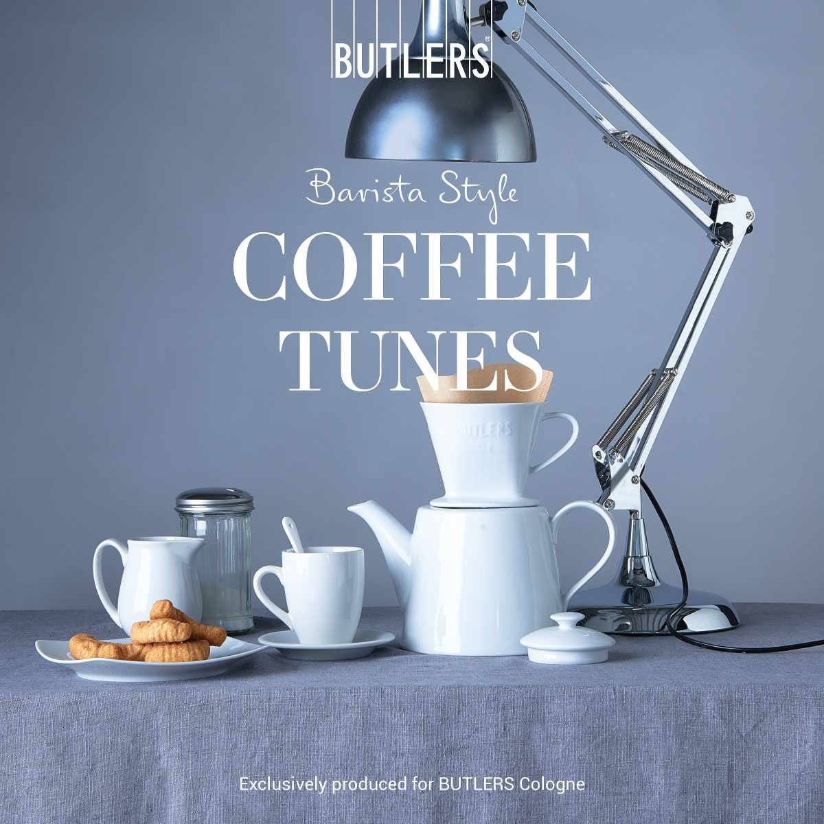 BUTLERS COFFEE TUNES CD »Kaffeebar Songs«
