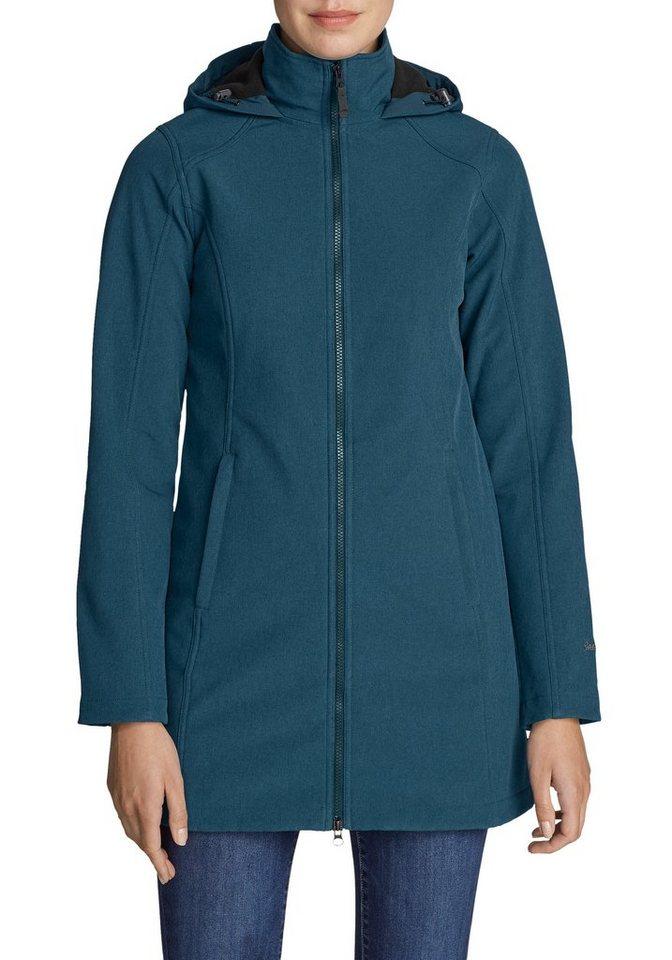 Eddie Bauer Langjacke Windfoil Elite Trenchcoat | Bekleidung > Jacken > Langjacken | Blau | Polyester - Elasthan | Eddie Bauer