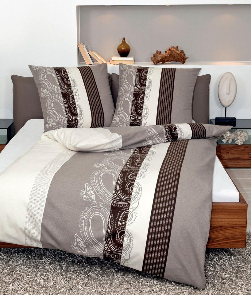 bettw sche paisley bord re janine mit streifen otto. Black Bedroom Furniture Sets. Home Design Ideas
