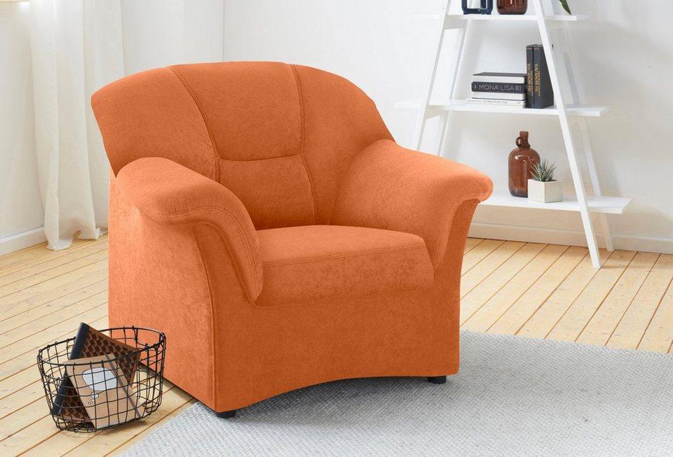 domo collection sessel wahlweise mit federkern individuell zu kombinieren online kaufen otto. Black Bedroom Furniture Sets. Home Design Ideas